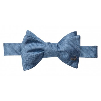 Riverboat Bow: Blue